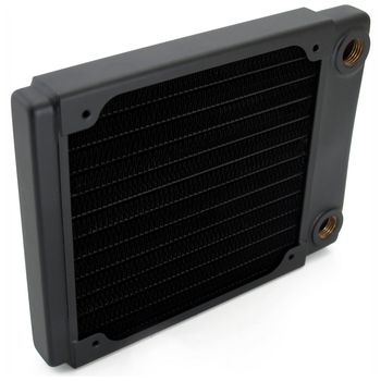 Product image of XSPC TX120 Single Fan 120mm Ultrathin Radiator - Click for product page of XSPC TX120 Single Fan 120mm Ultrathin Radiator