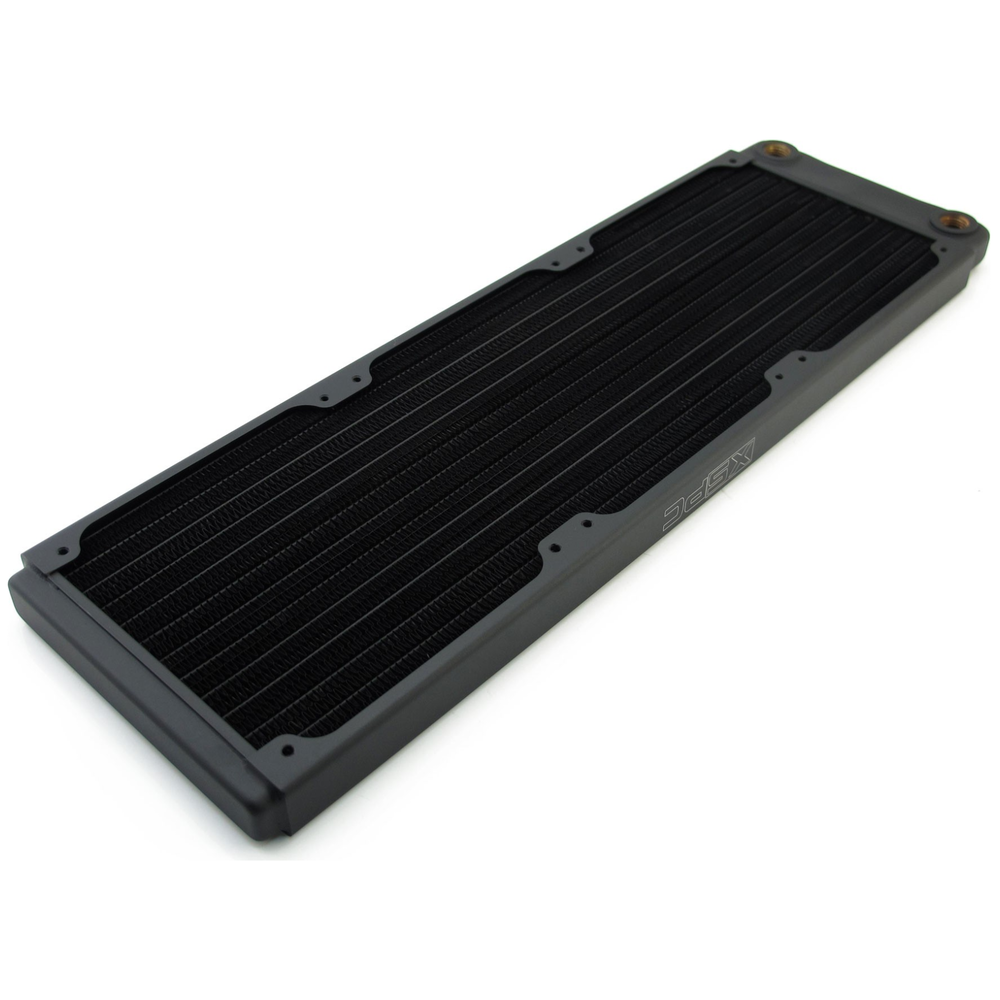 A large main feature product image of XSPC TX360 Triple Fan 360mm Ultrathin Radiator