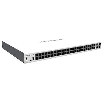 Product image of Netgear GC752XP Insight Managed 52-Port Gigabit Ethernet PoE+ Smart Cloud Switch w/ SFP & SFP+ Ports  - Click for product page of Netgear GC752XP Insight Managed 52-Port Gigabit Ethernet PoE+ Smart Cloud Switch w/ SFP & SFP+ Ports