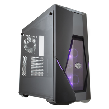 Product image of Cooler Master MasterBox K500 RGB Mid Tower Case w/Tempered Glass Side Panel - Click for product page of Cooler Master MasterBox K500 RGB Mid Tower Case w/Tempered Glass Side Panel