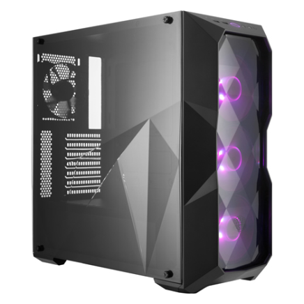 Cooler Master Masterbox Td500 Rgb Mid Tower Case W Diamond