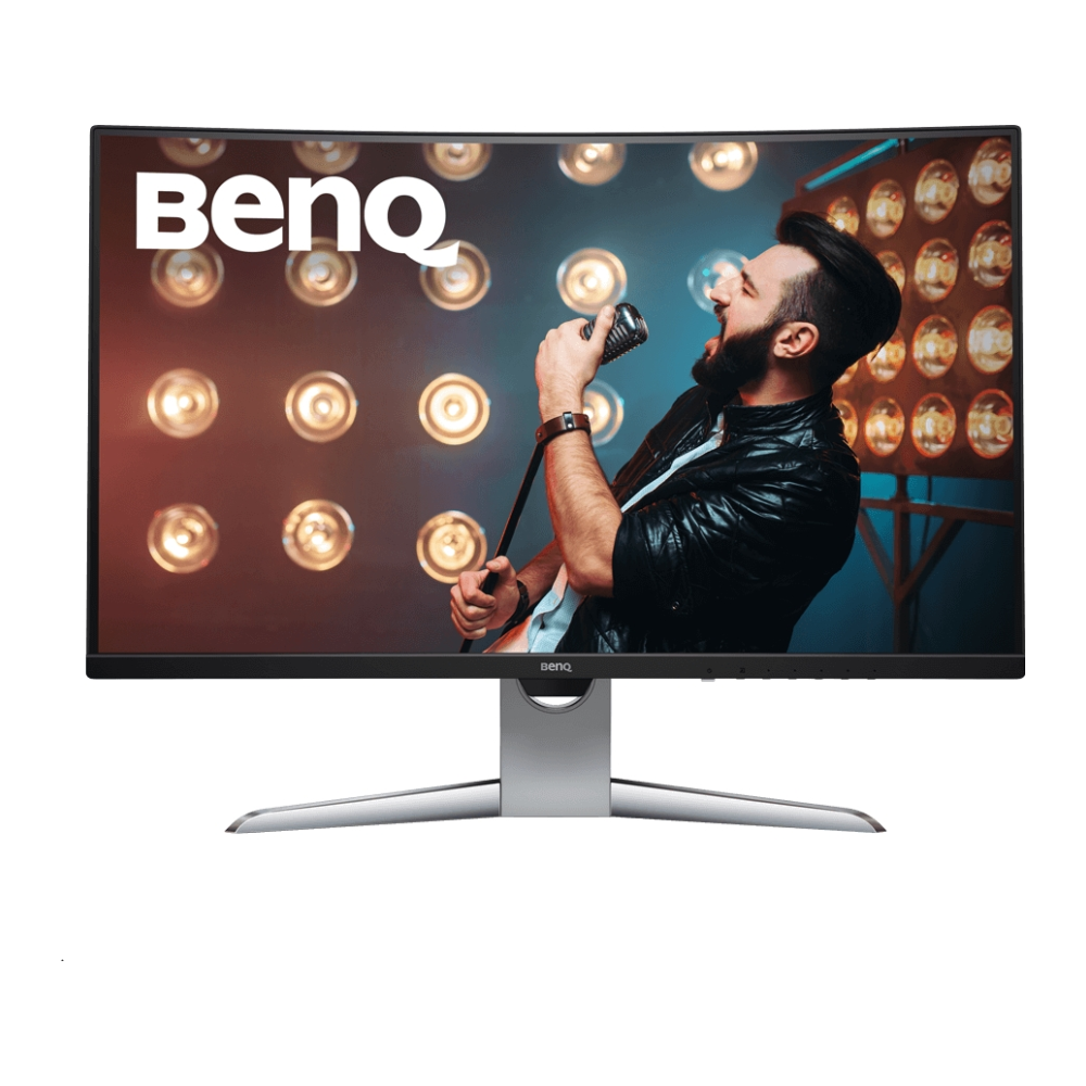 """A large main feature product image of BenQ EX3203R 32"""" WQHD FreeSync 2 Curved 144Hz HDR 4MS VA LED Gaming Monitor"""