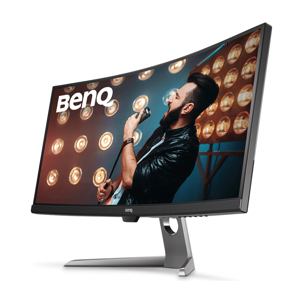 """A large main feature product image of BenQ EX3501R 35"""" Ultrawide QHD FreeSync 2 Curved 100Hz HDR 4MS VA LED Gaming Monitor"""