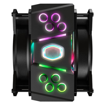 Product image of Cooler Master MasterAir MA410M Addressable RGB CPU Cooler  - Click for product page of Cooler Master MasterAir MA410M Addressable RGB CPU Cooler