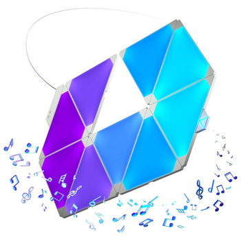 Product image of Nanoleaf Rhythm Smarter Kit (15 Pack) - Click for product page of Nanoleaf Rhythm Smarter Kit (15 Pack)