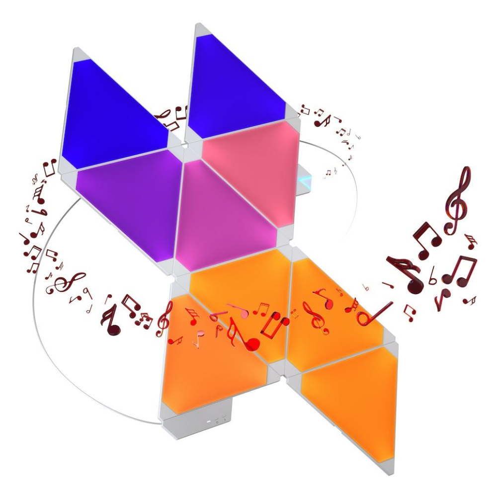 A large main feature product image of Nanoleaf Rhythm Smarter Kit (15 Pack)