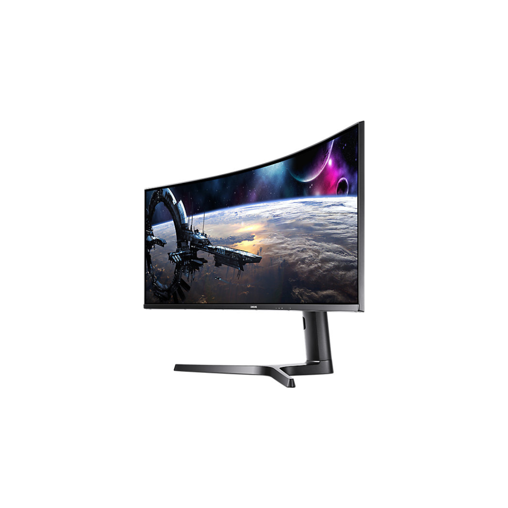 "A large main feature product image of Samsung CJ89 43"" Ultrawide Dual WUXGA Curved 120Hz 5MS VA LED Gaming Monitor"
