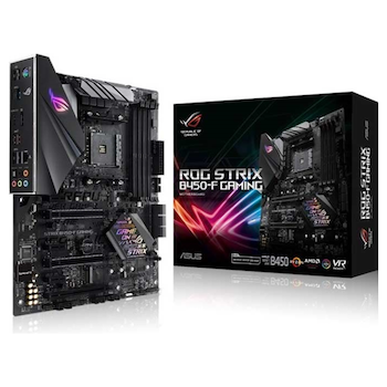 Product image of ASUS ROG Strix B450-F Gaming AM4 ATX Desktop Motherboard - Click for product page of ASUS ROG Strix B450-F Gaming AM4 ATX Desktop Motherboard