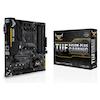 A product image of ASUS TUF B450M-PLUS Gaming AM4 mATX Desktop Motherboard