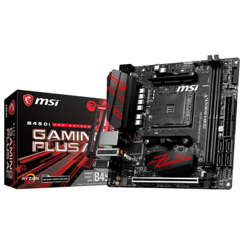 Product image of MSI B450I Gaming Plus AC AM4 mITX Desktop Motherboard - Click for product page of MSI B450I Gaming Plus AC AM4 mITX Desktop Motherboard