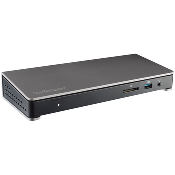Product image of Startech Thunderbolt 3 Dock for Laptops - Dual-4K - Power Delivery - Click for product page of Startech Thunderbolt 3 Dock for Laptops - Dual-4K - Power Delivery