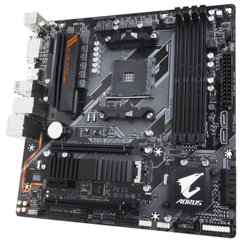 Product image of Gigabyte B450 AORUS M AM4 mATX Desktop Motherboard - Click for product page of Gigabyte B450 AORUS M AM4 mATX Desktop Motherboard