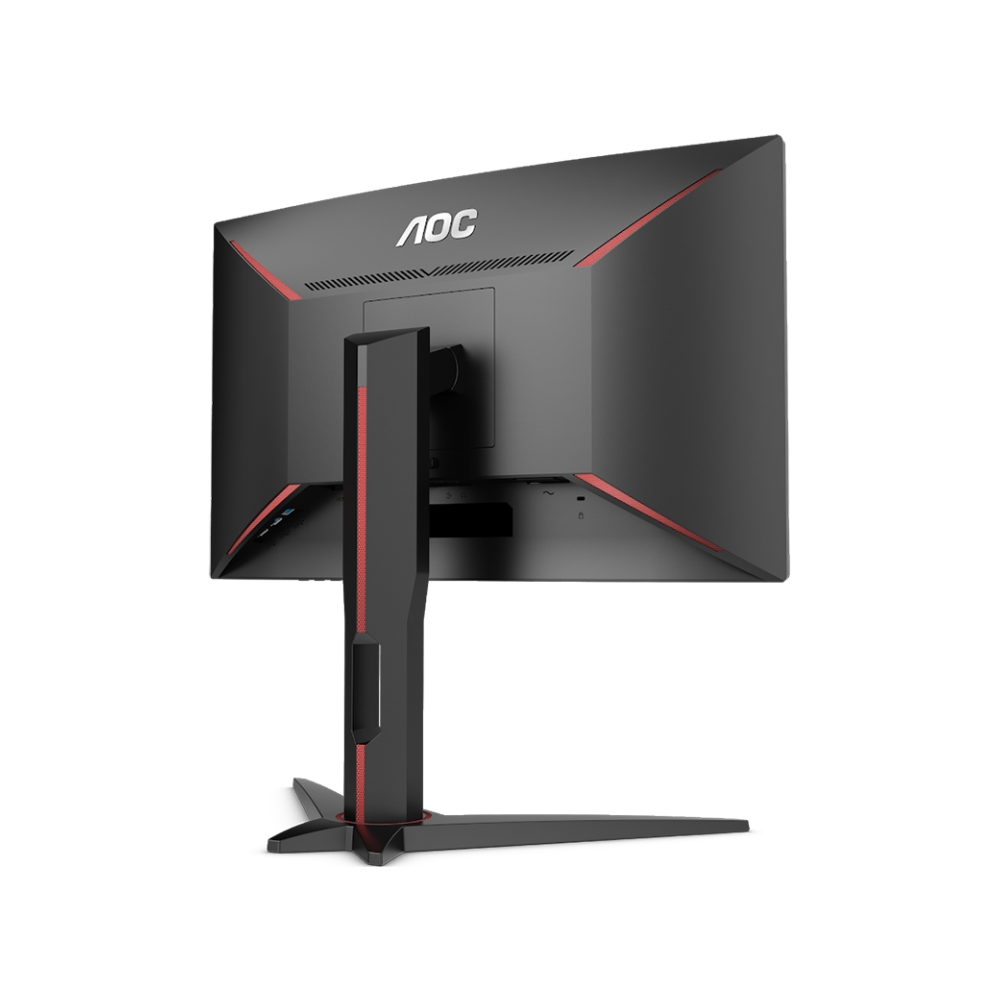 """A large main feature product image of AOC C24G1 23.6"""" Full HD FreeSync Curved Frameless 1MS 144Hz VA LED Gaming Monitor"""