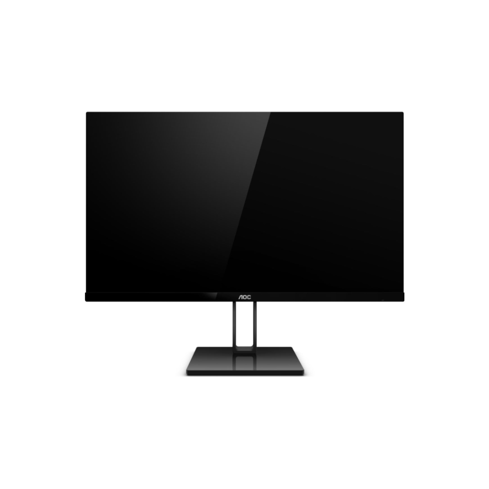 """A large main feature product image of AOC 24V2Q 23.8"""" Full HD FreeSync Frameless 75Hz 5MS IPS LED Monitor"""
