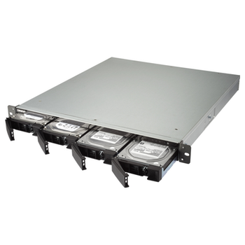 Product image of QNAP TS-432XU 1.7Ghz 2GB 4 Bay 1RU Rackmount NAS w/ Redundant Power Supply  - Click for product page of QNAP TS-432XU 1.7Ghz 2GB 4 Bay 1RU Rackmount NAS w/ Redundant Power Supply