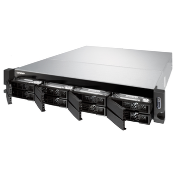 Product image of QNAP TS-832XU 1.7Ghz 4GB 8 Bay 2RU Rackmount NAS w/ Redundant Power Supply - Click for product page of QNAP TS-832XU 1.7Ghz 4GB 8 Bay 2RU Rackmount NAS w/ Redundant Power Supply