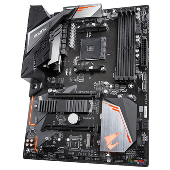 Product image of Gigabyte B450 AORUS Elite AM4 ATX Desktop Motherboard - Click for product page of Gigabyte B450 AORUS Elite AM4 ATX Desktop Motherboard