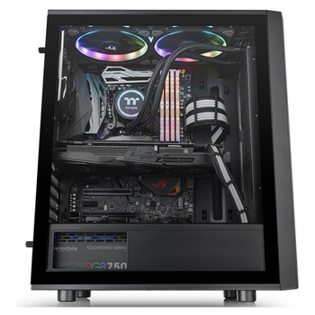 Product image of Thermaltake Versa J25 Tempered Glass RGB Mid Tower - Click for product page of Thermaltake Versa J25 Tempered Glass RGB Mid Tower
