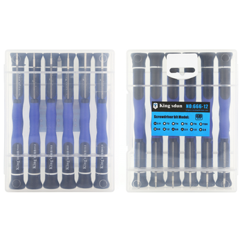 Product image of King'sdun 12 in 1 Precision Screwdriver Set - Click for product page of King'sdun 12 in 1 Precision Screwdriver Set