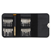 A product image of King'sdun 25 in 1 Portable Wallet Screwdriver Kit