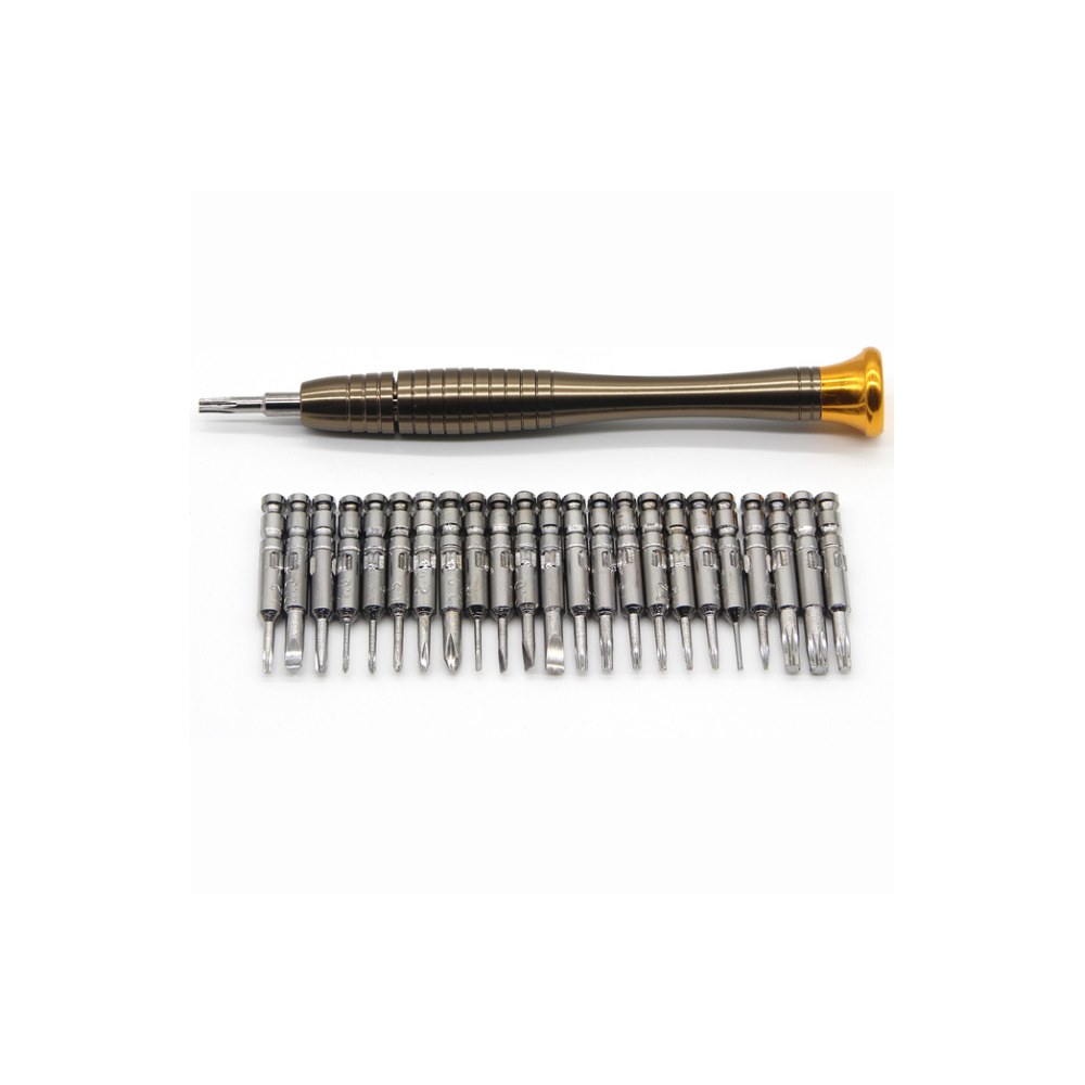 A large main feature product image of King'sdun 25 in 1 Portable Wallet Screwdriver Kit