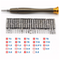A small tile product image of King'sdun 25 in 1 Portable Wallet Screwdriver Kit