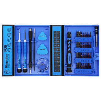 Product image of King'sdun 38 in 1 S2 Precision Screwdriver Tool Set for iPhone & Mobile Devices - Click for product page of King'sdun 38 in 1 S2 Precision Screwdriver Tool Set for iPhone & Mobile Devices