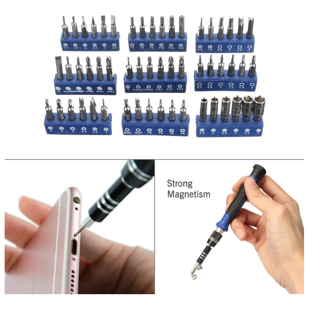 A large main feature product image of King'sdun 58 in 1 Pro Precision Magnetic Screwdriver Set