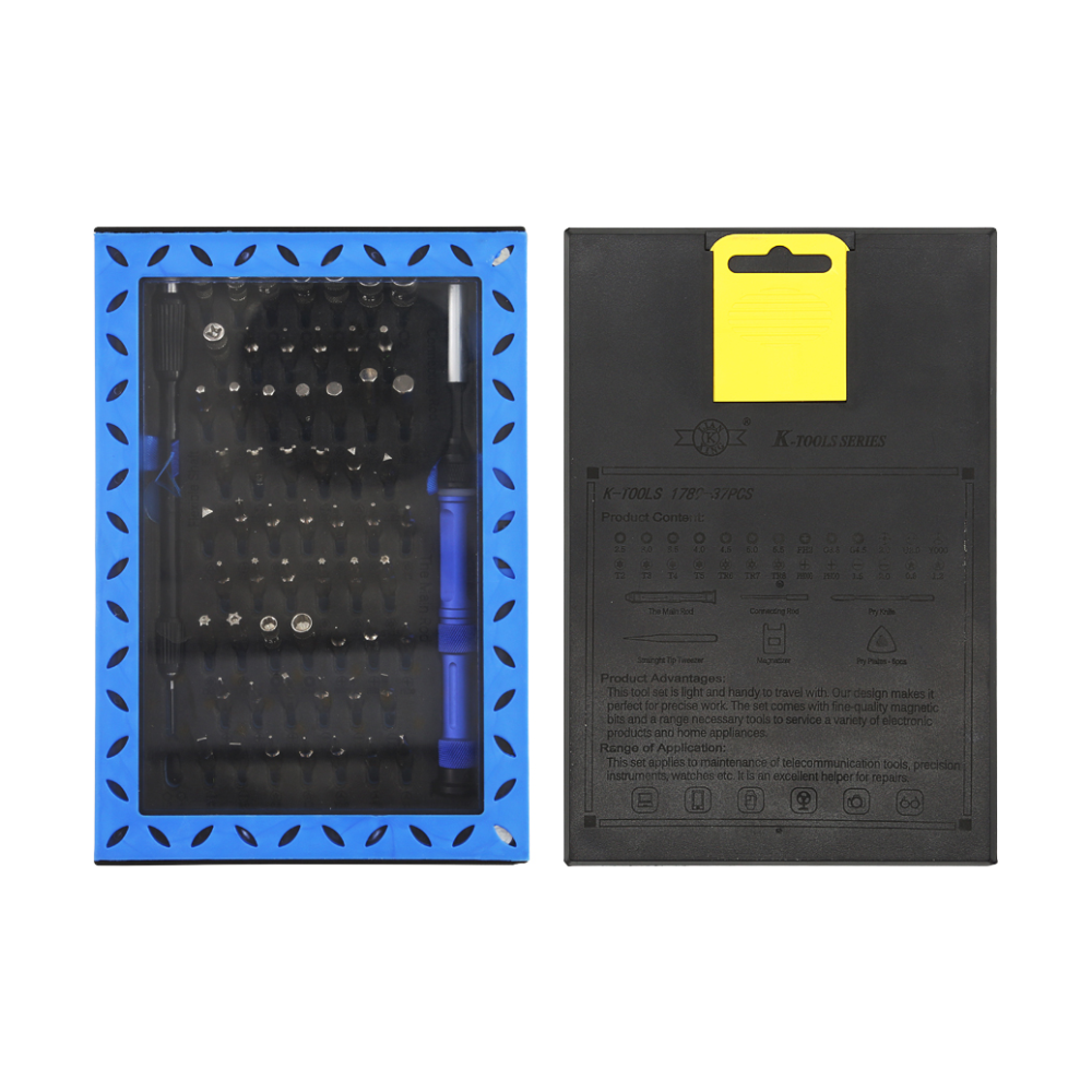 A large main feature product image of King'sdun 63 in 1 Screwdriver Tool Set for PC & Mobile