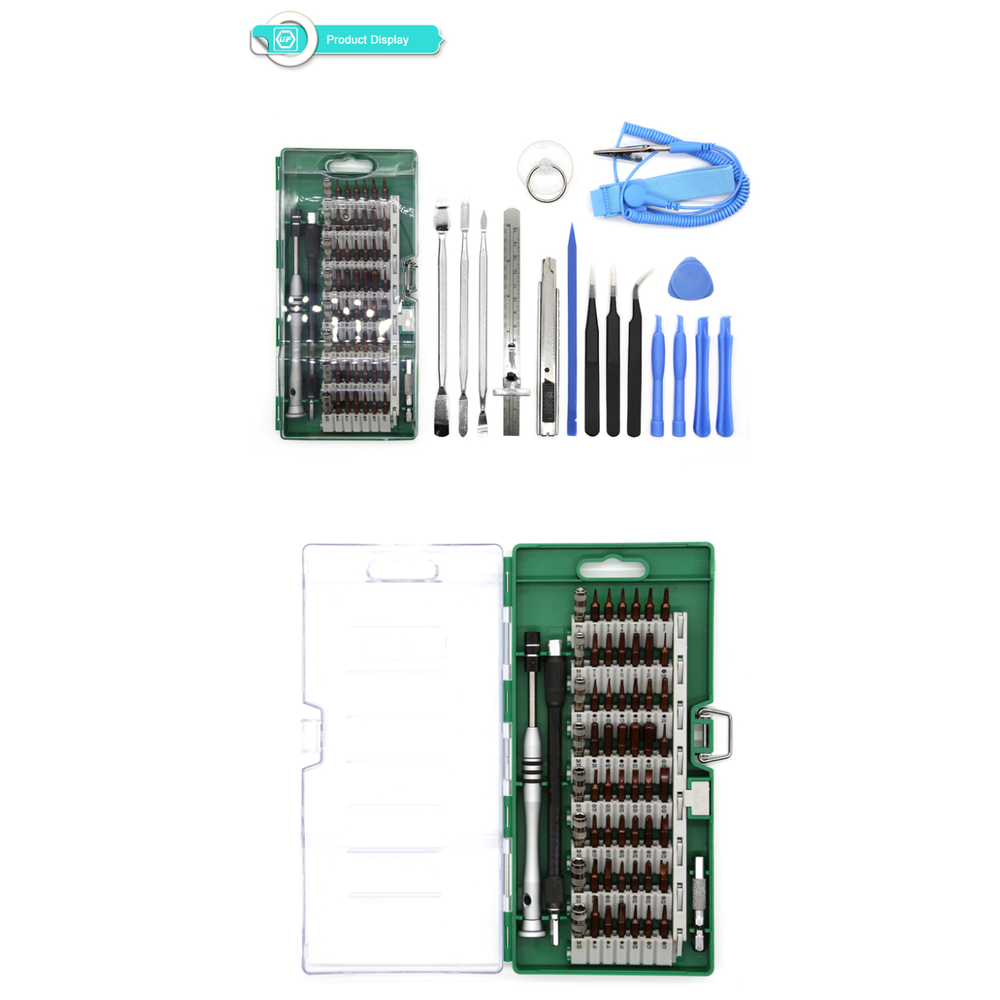 A large main feature product image of King'sdun 76 in 1 Precision Screwdriver Maintenance Toolset