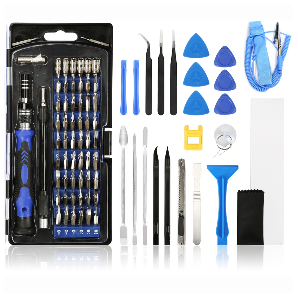A large main feature product image of King'sdun 86 in 1 CRV Steel Magnetic Driver Precision Screwdriver Set
