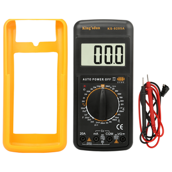Product image of King'sdun Digital Multimeter Portable w/Capacitance Meter - Click for product page of King'sdun Digital Multimeter Portable w/Capacitance Meter