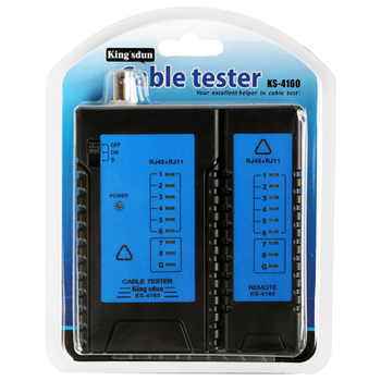 Product image of King'sdun RJ45 Cat6 LAN Cable Tester Set - Click for product page of King'sdun RJ45 Cat6 LAN Cable Tester Set
