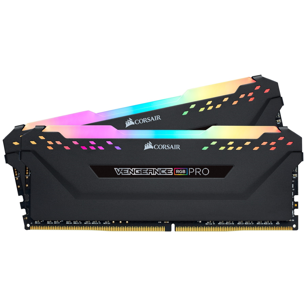 A large main feature product image of Corsair 16GB Kit (2x8GB) DDR4 Vengeance Pro RGB C15 3000MHz