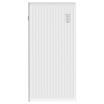 Product image of ORICO 10000mAh USB-A Type-C & Micro B Smart Power Bank - White - Click for product page of ORICO 10000mAh USB-A Type-C & Micro B Smart Power Bank - White