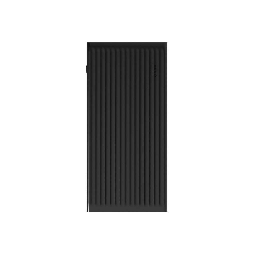 A large main feature product image of ORICO 10000mAh USB-A Type-C & Micro B Smart Power Bank - Black