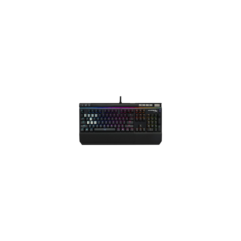 A large main feature product image of Kingston HyperX Alloy Elite RGB Mechanical Gaming Keyboard (MX Red)