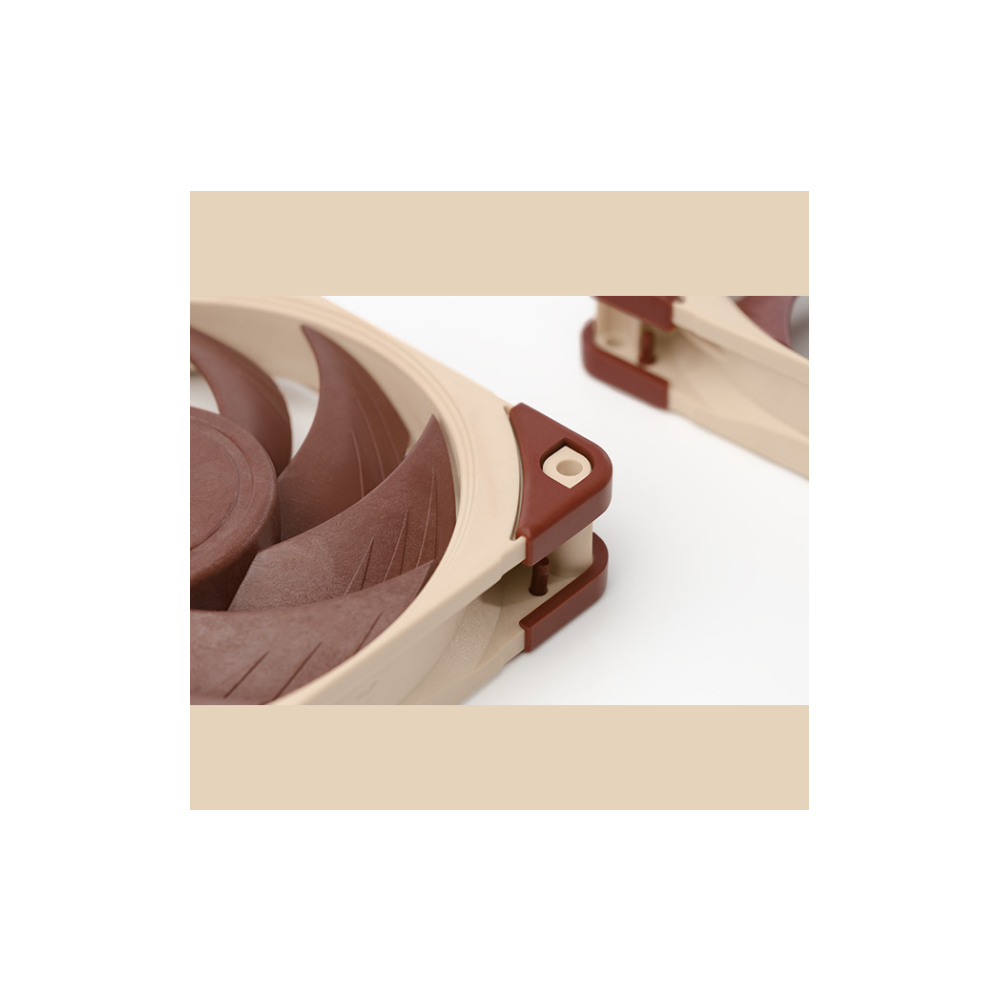 A large main feature product image of Noctua NF-A12x25-PWM Cooling Fan