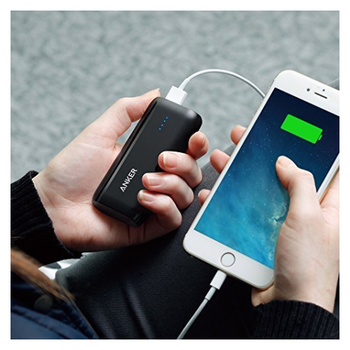 Product image of ANKER Astro E1 5200mAh (Black) Power Bank - Click for product page of ANKER Astro E1 5200mAh (Black) Power Bank