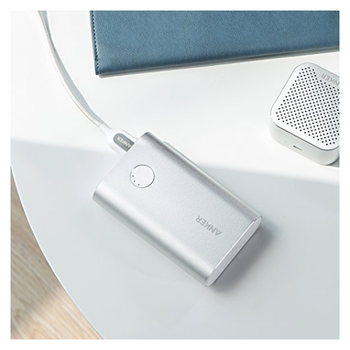 Product image of ANKER PowerCore+ 10050mAh  (Silver) Power Bank - Click for product page of ANKER PowerCore+ 10050mAh  (Silver) Power Bank
