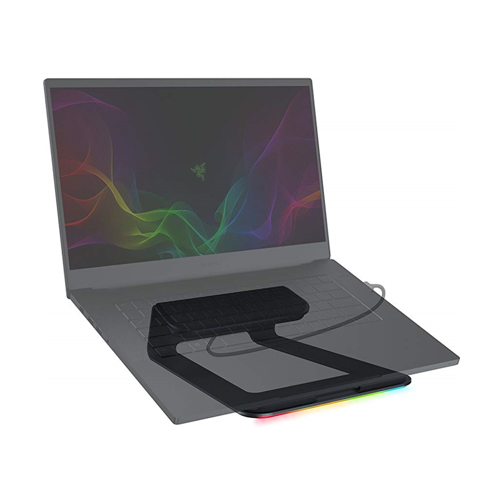 A large main feature product image of Razer Laptop Stand Chroma
