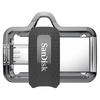 Product image of SanDisk Ultra Dual Drive m3.0 64GB USB3.0/micro-USB OTG Android - Click for product page of SanDisk Ultra Dual Drive m3.0 64GB USB3.0/micro-USB OTG Android