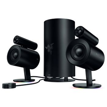 Product image of Razer Nommo Pro THX 2.1 Gaming Speakers - Click for product page of Razer Nommo Pro THX 2.1 Gaming Speakers