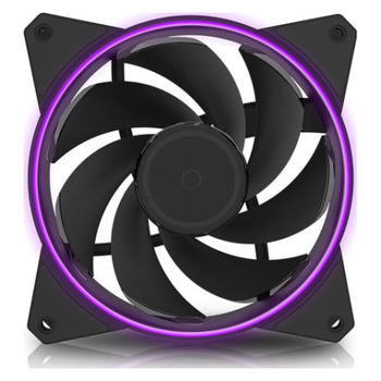 Product image of Cooler Master MasterFan MF122R RGB 120mm Fan - Click for product page of Cooler Master MasterFan MF122R RGB 120mm Fan