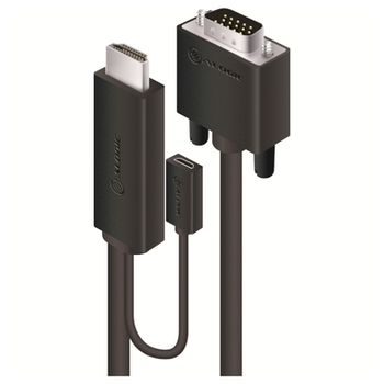 Product image of ALOGIC SmartConnect 3m HDMI to VGA Cable - Click for product page of ALOGIC SmartConnect 3m HDMI to VGA Cable