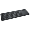 A product image of Microsoft Wireless All-In-One Media Keyboard