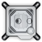 A small tile product image of EK Velocity RGB Intel Nickel Plexi CPU Waterblock