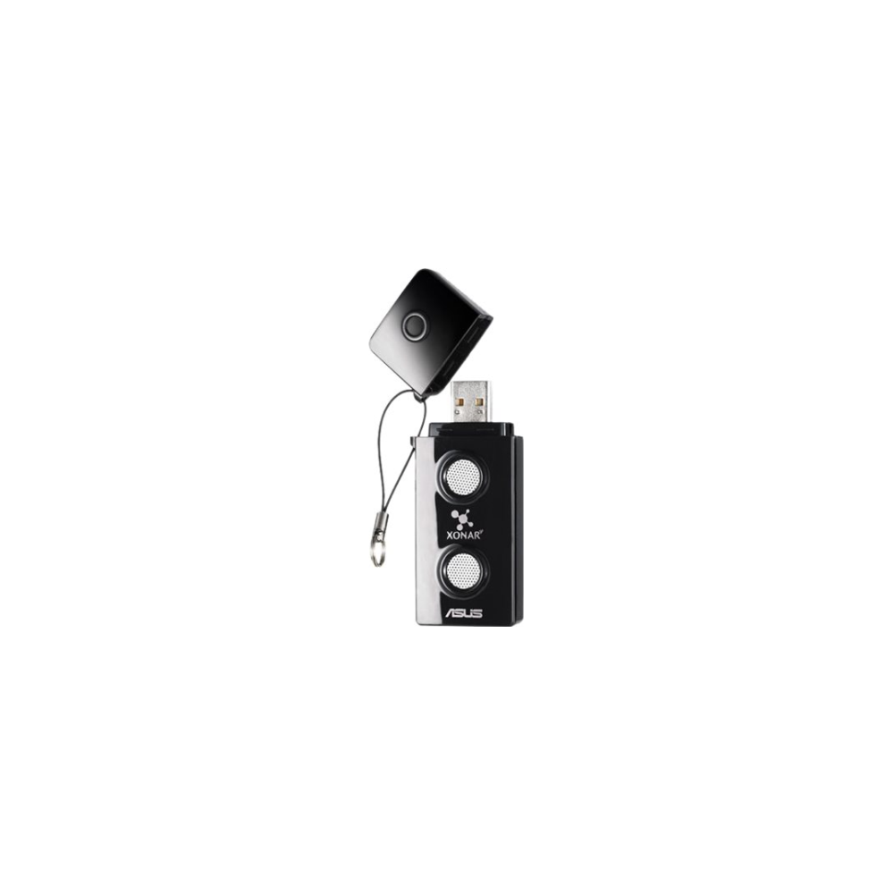 A large main feature product image of ASUS Xonar U3 USB Sound Card