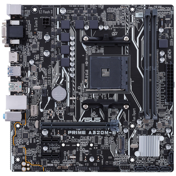 Product image of ASUS PRIME A320M-E AM4 mATX Desktop Motherboard - Click for product page of ASUS PRIME A320M-E AM4 mATX Desktop Motherboard