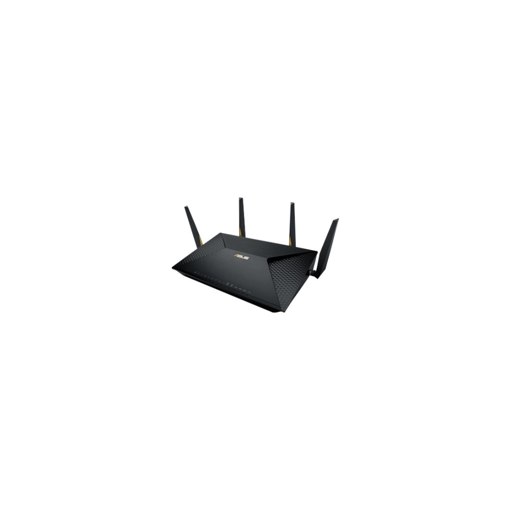 A large main feature product image of ASUS BRT-AC828 802.11ac Dual-Band Wireless-AC2600 Dual-WAN Gigabit Business Router